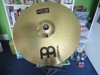 """Meinl 20"""" Ride Cymbal and Stand"""