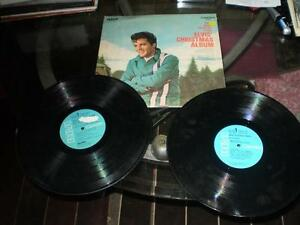 vinyl elvis (album elvis christmas & inspirations/blue hawaii