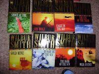 Wilbur Smith set of 8 books