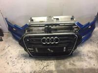 Audi A3 s line 2016 2017 2018 2019 2020 front bumper and grill