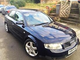 Audi A4 2.5 V6 2004 Automatic with genuine 71k miles drives perfect slightly jerky!
