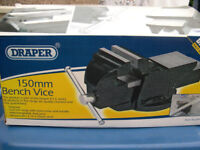DRAPER 150mm BENCH VICE ……………..POSTING FOR 7 + YEARS