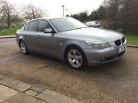 BMW 525 SE 2005 AUTO SAT NAV . FULL LEATHER. FULLY LOADED DRIVES THE BEST