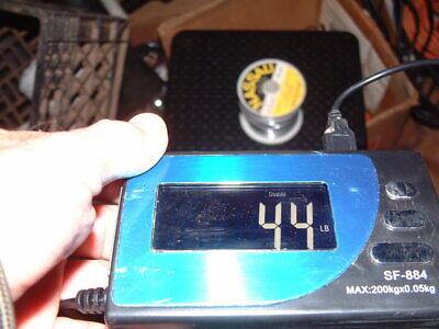 Vintage Nassau 1 Roll - Stearine Core Spec 7241 Solder Weighs 4.4 Lbs
