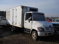 2005 Hino 185 - for parts only - Reefer box
