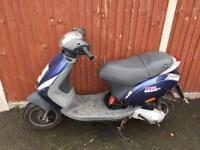 80cc reg as 50cc Piaggio zip moped scooter Vespa Honda Yamaha gilera runner Peugeot