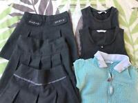 School uniform, school dresses and skirts Bundle