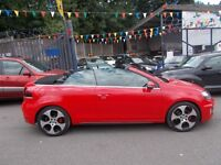 Volkswagen Golf 2.0 GTI DSG 2dr 210 BHP Convertible 1 OWNER FROM NEW 13/13 FABULOUS