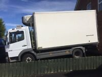 Mercedes Atego Cab & 14ft Fridge Body. Owner driven and serviced by Mercedes from new. Drives great