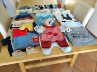 Baby boy clothes 0 - 12 months, very large bundle
