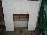 Used marble fire surround