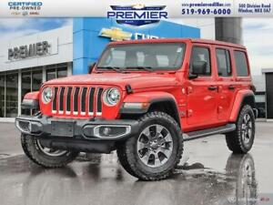 2018 Jeep WRANGLER UNLIMITED Local trade, leather, Navigation,