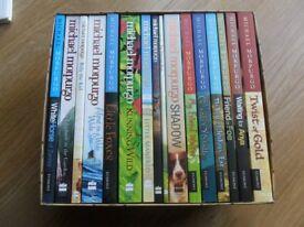 Box set of Michael Morpurgo Books - 16