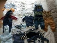 Baby clothes bundle - 35 items