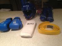 Blitz Junior Kickboxing Protective Equipment