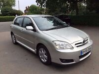 2006 TOYOTA COROLLA D-4D DIESEL. FINANCE AVAILABLE