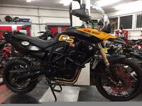 BMW F 800 GS possible swap classic car or other bike + cash