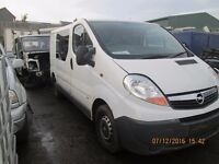 Renault Trafic 2008 2.0 DCI for parts wheel nut