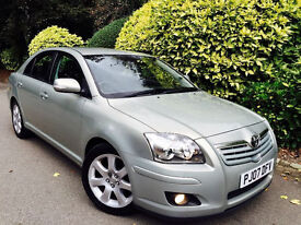 **ONLY 11K MILES** TOYOTA AVENSIS 2.0 T4 + FULL TOYOTA S/HISTORY-10 STAMP + 1PENSNR OWN + SHWRM COND