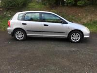 Honda Civic 1.6 5 Door mot 6 months like Astra Focus golf