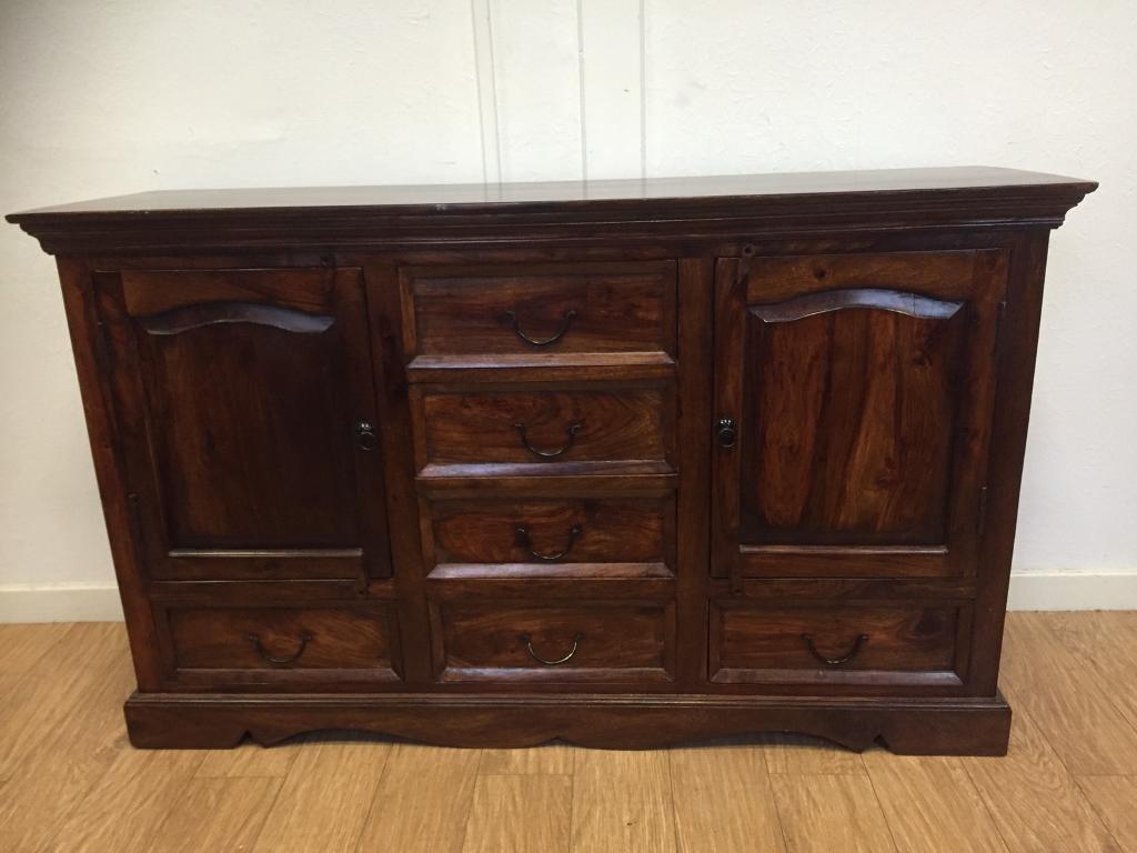 Solid wood Mexican pine sideboard in Kirkintilloch, Glasgow Gumtree
