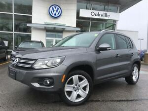 2013 Volkswagen Tiguan CL/NAV/BLUETOOTH/SUNROOF/RARE!