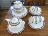 Wedgwood 'Commodore' bone china dinner/tea service