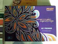 Husqvarna / Pfaff 6D Premier Embroidery Software