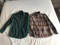 NEXT boys shirts- thick material Size 11 years