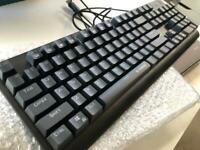 E-YOOSO K600 LED Rainbow Backlit Mechanical Gaming Keyboard