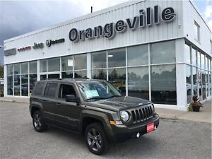 2015 Jeep Patriot HIGH ALTITUDE, 4X4, HEATED LEA