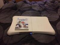 Wii fit and game (£10)