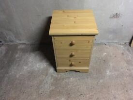 One bedside table