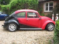 VW BEETLE. CLASSIC. 1972. 1300CC. TAX EXEMPT. LOWERED. SOLID.