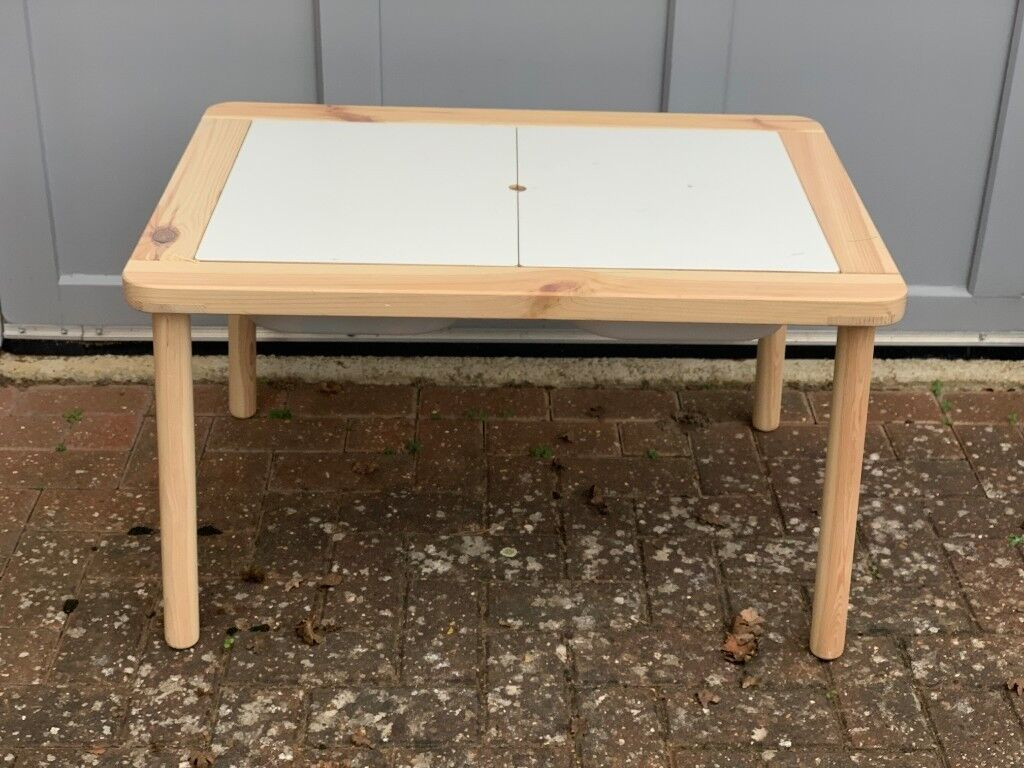 Ikea flisat children s table incl trofast in kidlington