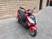 2016 125cc SCOOTER LEX ONLY 4K MILES CBT LEARNER LEGAL PIAGGIO PCX SPEEDFIGHT NSS 50CC TYPHOON