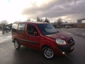 fiat doblo 1.4 dynamic 58 plate wheelchair access converted wav 57000 miles looks / drives great