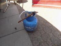 Calor Gas Canister 4.5kgs with Regulator, Pipe/Tube and Burner, collect Hall Green B28