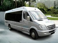 Cheap Minibus Hire & Driver - Coach and Bus Hire - 8 to 70 seaters - immediate quotes.