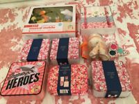 Various toiletry sets
