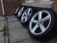 18'' Audi A4 Sline alloys 5x112 also fit A5 A6 VW Passat golf gttdi Jetta seat Leon skoda etc