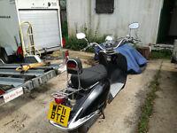 Lexmoto 125 Moped