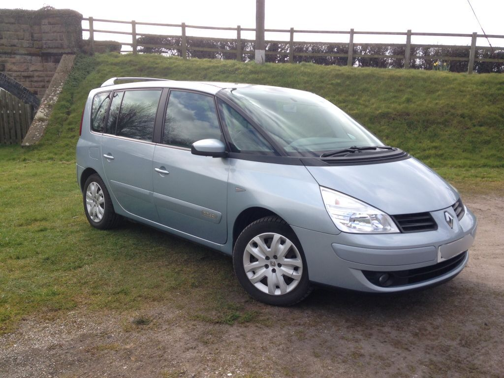 2007 renault espace expression dci 150 7 seats good condition in market drayton. Black Bedroom Furniture Sets. Home Design Ideas