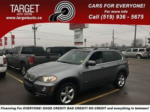 2008 BMW X5 4.8i, 7-Pass, Loaded; Leather Panoramic Roof and M