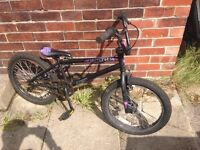 """BMX Girls/Boys 20"""" wheels good condition (ruption cycles) cost over £150"""
