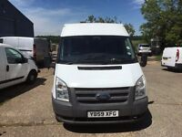 ford transit mwb fridge van.1 previous owner.NO VAT.electric windows.