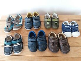 Boys Clarkes shoes various sizes