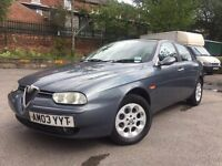 3 Alfa Romeo - 1.9 Diesel - one year mot - 12 service history stamps - 2 set of keys