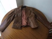 Women's Leather Jacket - Size 14 - Only Worn Once
