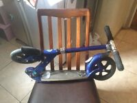 MICRO FLEX DELUXE ADULT'S SCOOTER - BLUE